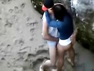 Flagra Fudendo Na Praia Escondido