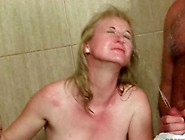 Mature Woman And Two Guys Pissing And Fucking