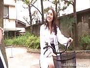 Wild Nurse Is A Horny Japanese Av Model Sucking Cock