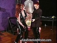 Ball Inflation And Suffocation For That Complete Slave High!