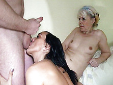Naughty Granny Getting Wild With Teen