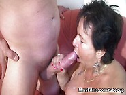 Stunning Brunette Eu Mature Female Perfroming In Amazing Sex Act