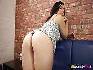 Chick In A Tiny Dress Teases Her Amazing Big Ass