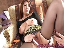 Busty Japanese Mom Face Fucked