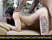 Casting Francais - Canadian Beauty With Big Tits Fucked