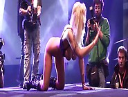 Extreme Movie Pass - Hot Dildo Solo On Stage With A Sexy Blonde