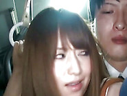 Erotic Train Fucking For A Cute Japanese Darling