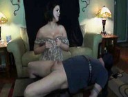 Sara - Soft Hands And Huge B.  Are Too Much For Captive C.
