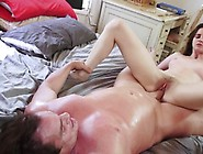 Sweet Jay Taylor Hammered In Her Petite Minge Hole
