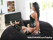 Snazzy Trimmed Latina Mature Lady Having Sex In Latex