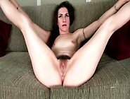 Pretty Brunette Milf Has A Wicked Hairy Bush