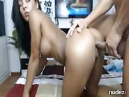 Sexy Cam Girl Licks Alot Of Sperm