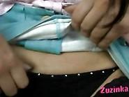 Amateur Zuzinka With Dildo Inside Pussy In Public