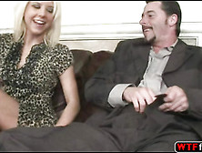 Darryl Hanah Tries Blowing Tessa Taylor Partner Monster Cock And