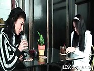 Lesbian Milf Seducing Teen Hot Cutie And Fucking Her