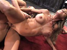 Title: Brandi Love gets her hot pussy slammed