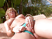 Icy Hot Pornstar Pounds Her Shaved Pussy With Massive Sex Toys O