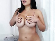 Amazing Blackhaired Webslut Goes Wild And Horny On Webcam