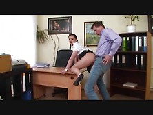 Young Secretary Fucked By Her Boss