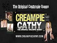 Creampie Cathy Cumfilled Pussy