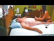The Grandpa Gets A Massage With A Happy Ending