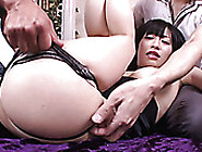Yui Kyouno Spreads Legs Wide Open And Gets Her Asian Pussy Finge