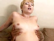 Milky Skin Blondie Gets Hard Black Dong Fuck On The Sofa