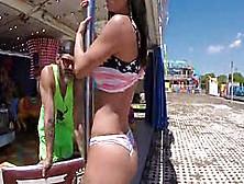 Juicy Butt Nympho Franceska Jaimes Assfuck And Squirt