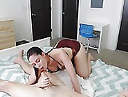Teen With Big Boobs Make A Blowjob And Fuck Her Boyfriend