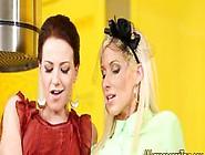 Cute Lesbians Pissing