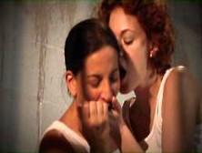 Justine Joli And Melissa Monet River Rock Women's Prison Le