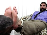 Gay Men With Small Feet Chase Lachance Tied Up,  Gagged & Foo