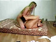 Lindsay Fighting Naked On A Mattress