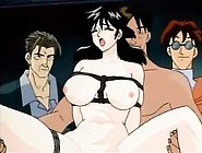 Tied Up Anime Slut Fucked As Audience Watches