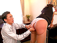 Lovely Asian Milf With In A Sexy Pantyhose Getting Fingered In T