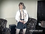 Bone - Vintage British Schoolgirl Strip Dance Teen Porn Fa P