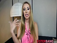 Blonde Step Sister Harley Jade Getting Some Bad Extortion