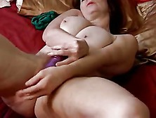 Hairy Busty Mature Solo