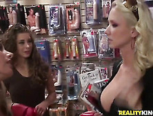 Freaky Fetishes With Elena Cole, Molly Cavalli And Renna Ryann.