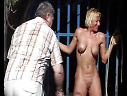 Outdoor Whipping Of Blonde Wife In Hardcore Public Bdsm And Milf