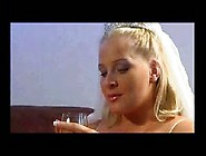 Blond Pregnant Bride Fucks Bbc