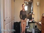 ◆乳揺れ:katee Owen(ケティー・オーウェン)ぷりっぷり爆乳激揺れダンス