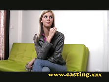 Casting - Super Skinny Babe Gets Fucked Hard