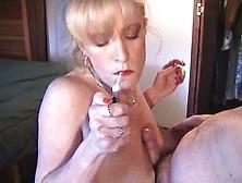 Smoking Bitch Blowjob   Part 3