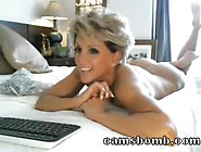 Very Hot Cam Milf Dildo Riding