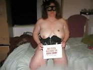 Masked Swinger Chubby Milf Fucks 2 Of Her Husband's Buddies