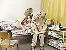 Bosomy Hot Wifey Came To Blow Sweet Cock Of Her Hubby In Hospita