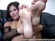 Mistress Puts Feet On Display To Tease Horny Men
