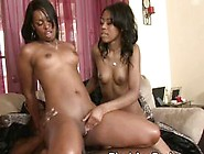 Big Booty Black Sluts Fucked And Share Facial In Threes