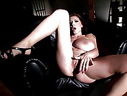 Merilyn Sekova Huge Tits In Leather Outfit